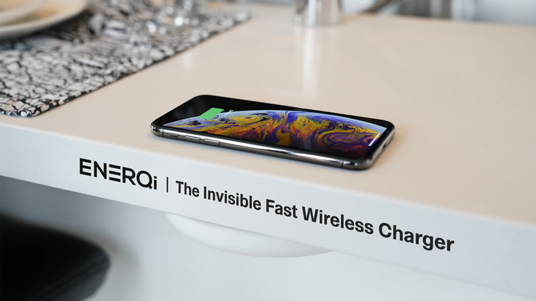 Enerqi Charges Your Iphone From Under Your Desk
