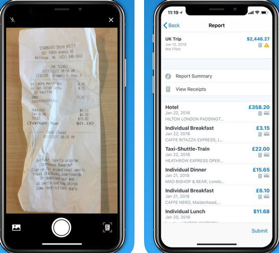 6 Time Saving Iphone Receipt Tracking Apps For Tax Purposes