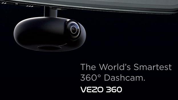 Vezo 360: 4K 360 Dashcam with AI-powered Drowsiness Detection -