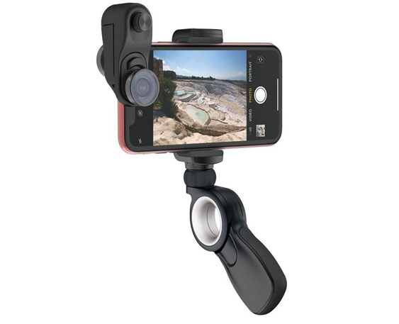buy popular b24f3 2f286 olloclip Filmer's Kit for iPhone XR with 5 Lenses -