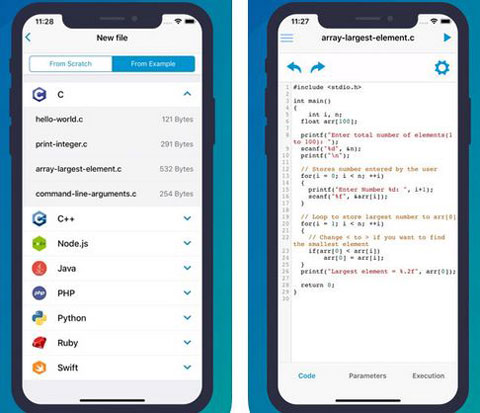 10+ Must See iOS Compilers for Programmers -
