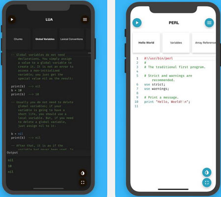 4 Must See iPhone Apps for Lua Programming -