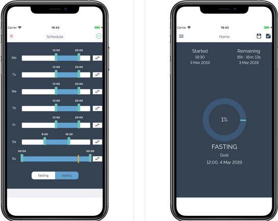 MyFast Intermittent Fasting Tracker & Scheduler App -
