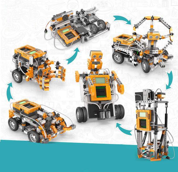 E40 Robotics Produino Kit Teaches Kids Coding (Drag & Drop, C++) -
